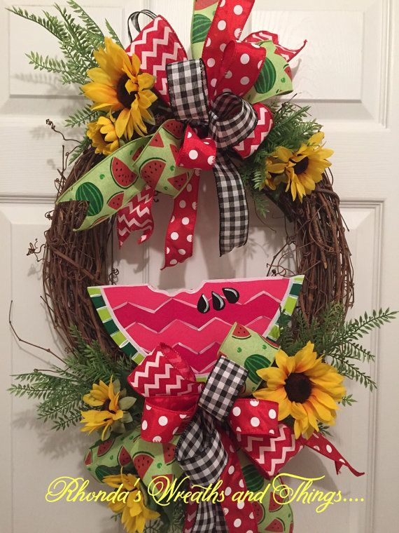 Hello Summertime.... by RhondasWreaths on Etsy