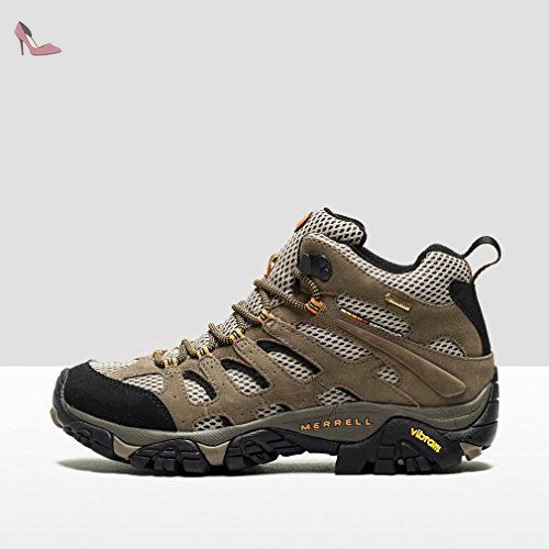 Bottes de randonnée pour hommes Merrell Moab Gore-Tex, Taupe, 46.5 - Chaussures merrell (*Partner-Link)