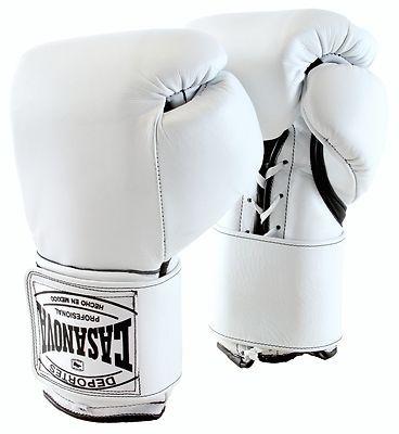 Deportes Casanova Sparring Training Boxing Gloves w Velcro White 14 Oz | eBay