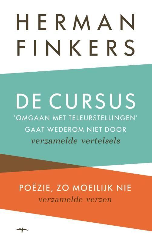 Gevonden via Boogsy: #ebook De cursus omgaan met teleurstellingen gaat wederom niet door & Poezie, zo moeilijk nie van Herman Finkers (vanaf € 12,99; ISBN 9789400403697). `Ik word wakker doe een plas sta op en denk: Verrek het moest andersom. Of zoals Finkers ooit al zei: `De leukste grappen zijn de grappen die niet zijn bedacht maar ja bedenk die maar eens. In oneliners als deze maar ook in verzen als: `Ik zit voor het raam ik fluister zacht haar naam: Veldhuis wordt bij... [lees verder]
