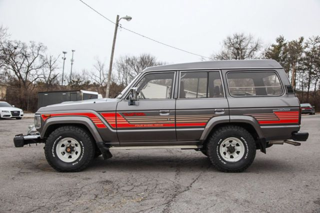 1987 Toyota Land Cruiser Hj61 Turbo Diesel At 12 Ht Pto Winch 163k 33 Bfg S For Sale Photos Technical Specification Toyota Land Cruiser Land Cruiser Toyota