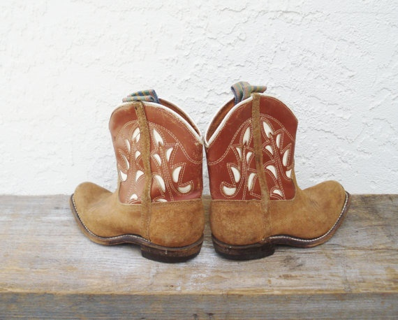 Tiny Cowboy Boots / Little Boy Cowboy Boots / by AlegriaCollection, $20.00