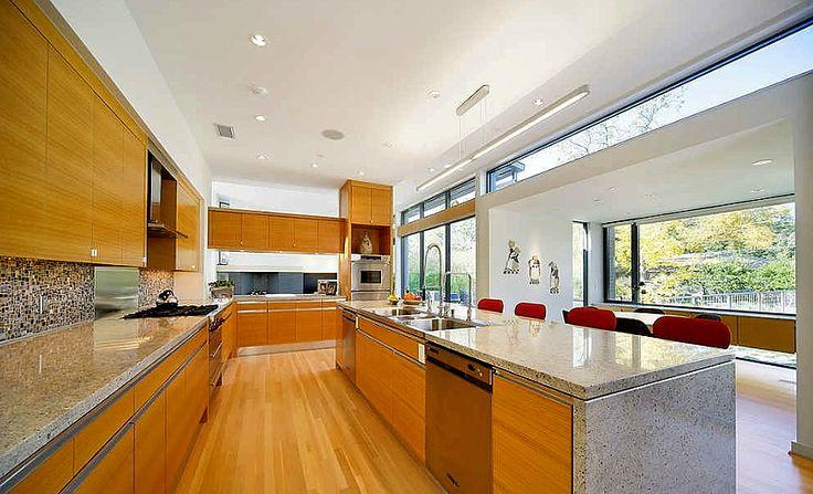 Kitchen on Pinterest  Purple kitchen, Modern kitchen cabinets and
