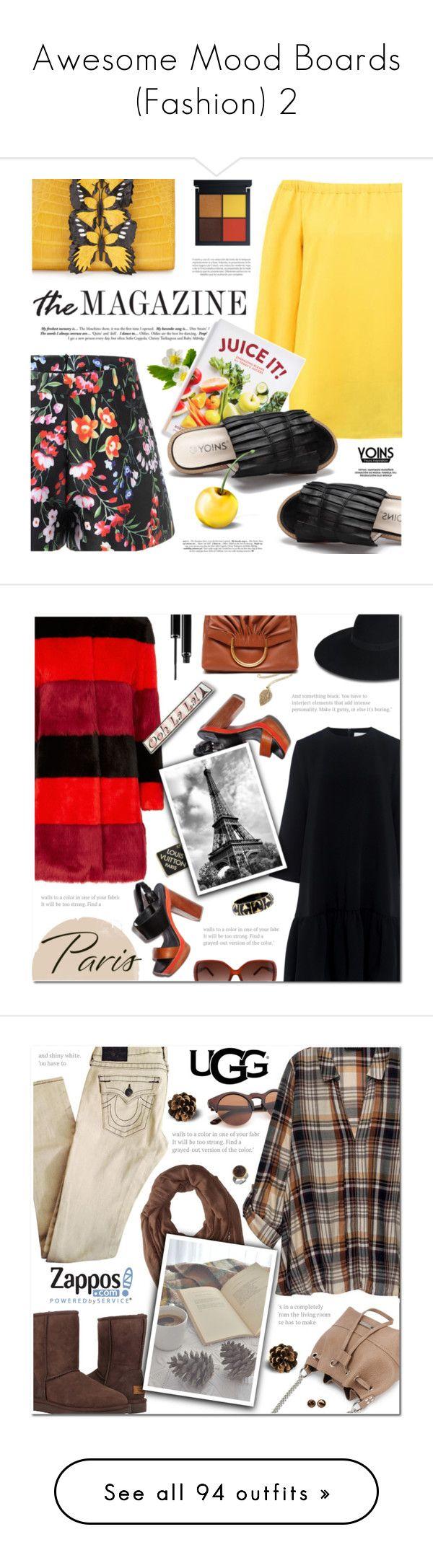 """Awesome Mood Boards (Fashion) 2"" by queenrachietemplateaddict ❤ liked on Polyvore featuring Chronicle Books, Nancy Gonzalez, AINEA, Edit, Maison Michel, Louis Vuitton, Angélique de Paris, STELLA McCARTNEY, Sisley and Chloé"