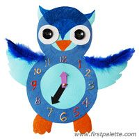 Step 16 Owl Tells the Time