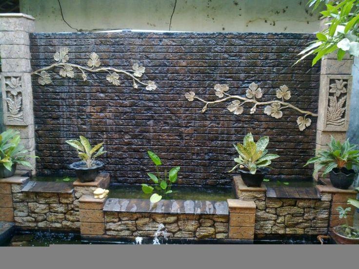 Las 25 mejores ideas sobre cascadas para patios en for Cascadas de piedra para jardin