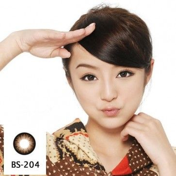 GEO Bella Brown BS-204 Color Contact Lenses - Buy Cheap Contact Lenses and Cosmetics Online