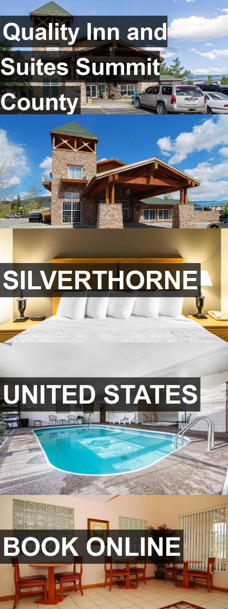 Hotel Quality Inn and Suites Summit County in Silverthorne, United States. For more information, photos, reviews and best prices please follow the link. #UnitedStates #Silverthorne #travel #vacation #hotel