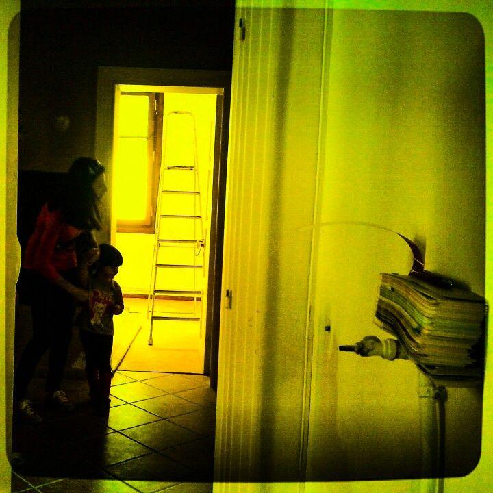 The open door!