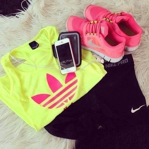 set to run #fashion #sport #womens fashion