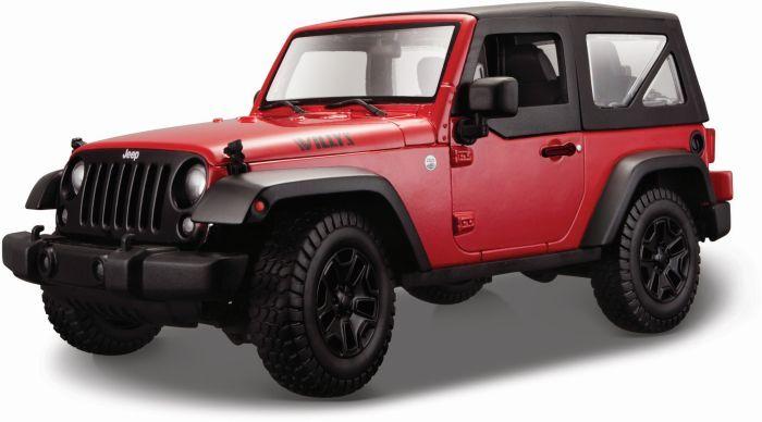 Maisto Jeep Wrangler 1/18-2 Χρώματα (31676) - http://kids.bybrand.gr/maisto-jeep-wrangler-118-2-%cf%87%cf%81%cf%8e%ce%bc%ce%b1%cf%84%ce%b1-31676/