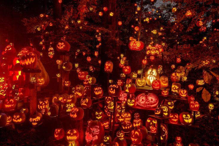 Оформление Хеллоуина