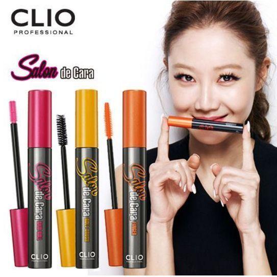 Clio Salon de Cara Volume Curling Long Lash Mascara (3Types) #Clio