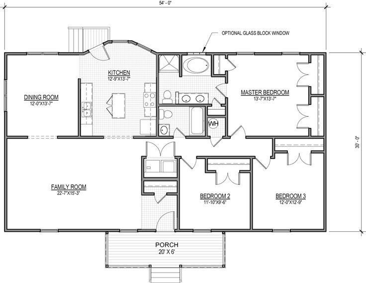The Kaplin Is A Ranch Style Home With 3 Bedrooms And 2