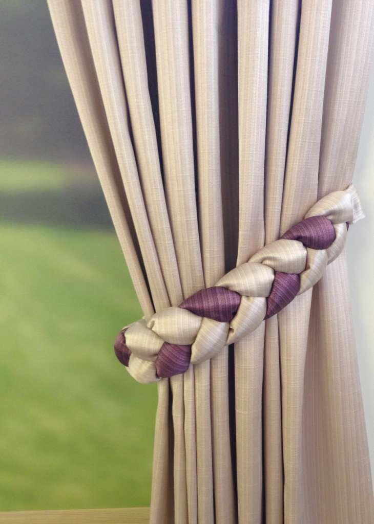 Plaited Tie Backs Drapes Uk Curtain Ideas Pinterest Plaits