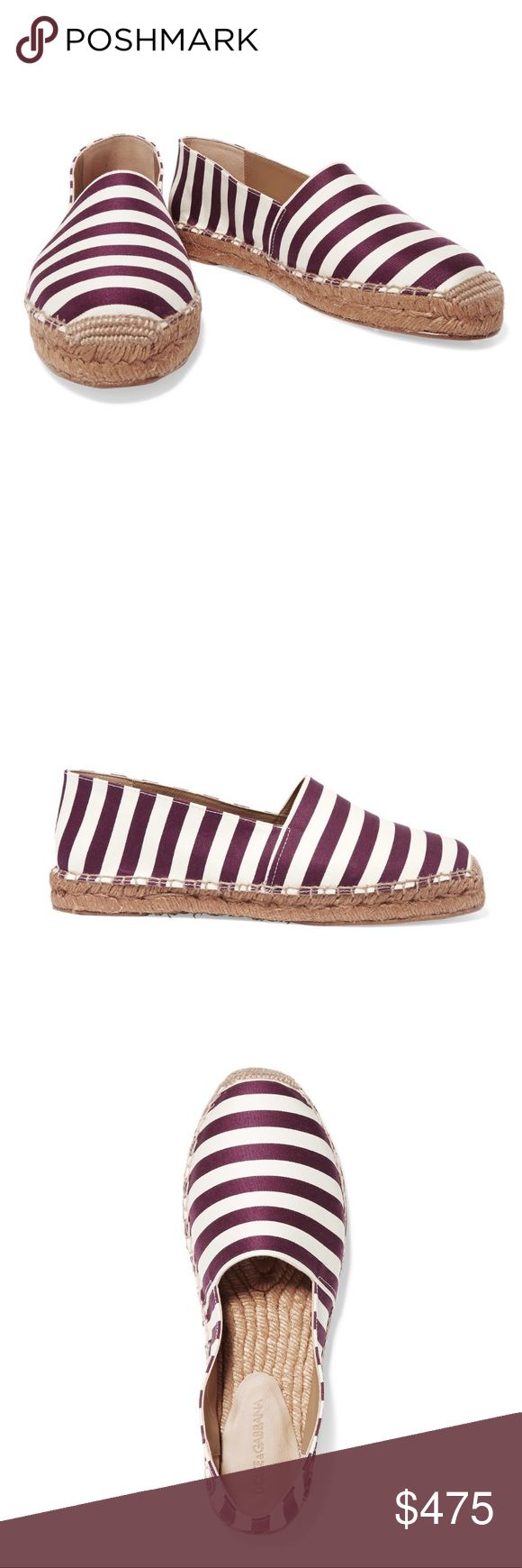 DOLCE & GABBANNA Canvas Espadrilles NWT DOLCE & GABBANNA White and Purple Espadrilles  - Brand new in box - Retails $665 - Jute sole (1 inch) - Round toe - Slip on - Made in Italy 🇮🇹  - True Size  - No Trades ❌ - Offers ✅ Dolce & Gabbana Shoes Espadrilles