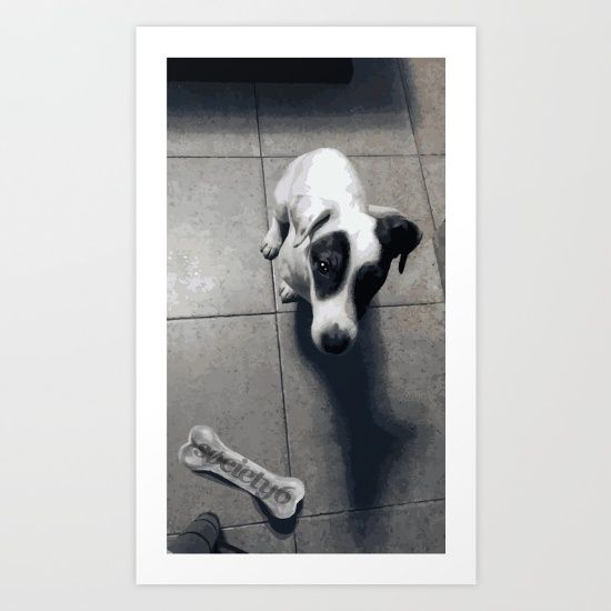 Working in vector dedicated to my fantastic dog Marley!. #skins #ipod #iphone #ArtPrints #rugs #WallTapestries #Tshirts #LEGGINGS #Mydog #Marley #cane #jackrussellterrier #dog #Terrier #jackrussell