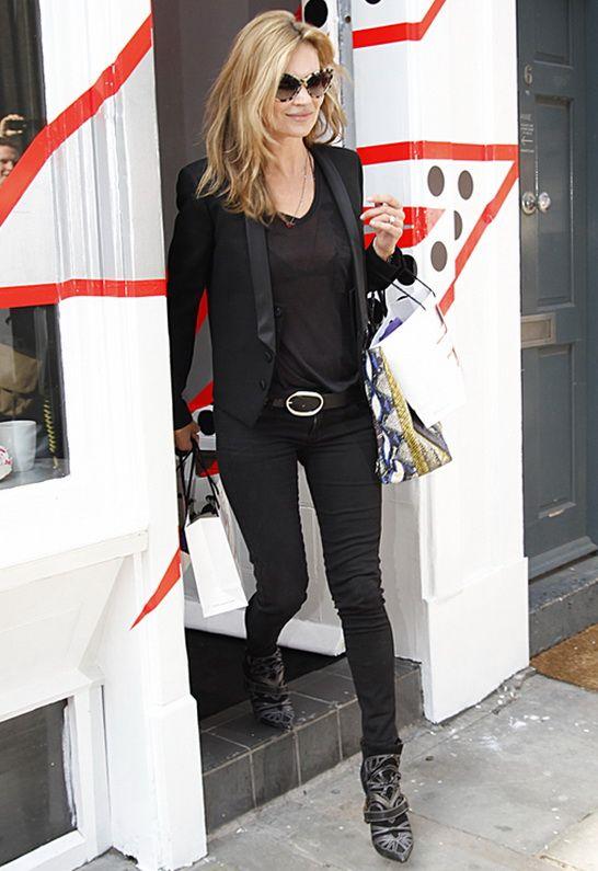 Siwy Denim Hannah Slim Crop Jean in Its Magic - as seen on Kate Moss  $154