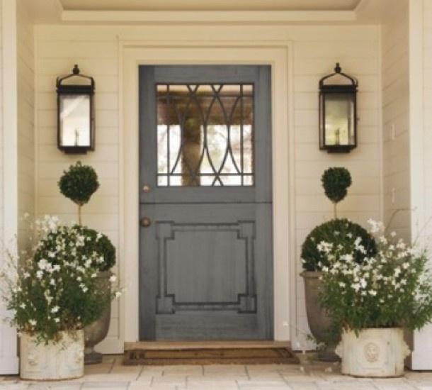 mooi plaatje van een voordeur