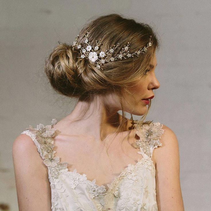 Vintage hair accessory from Debbie Carlisle