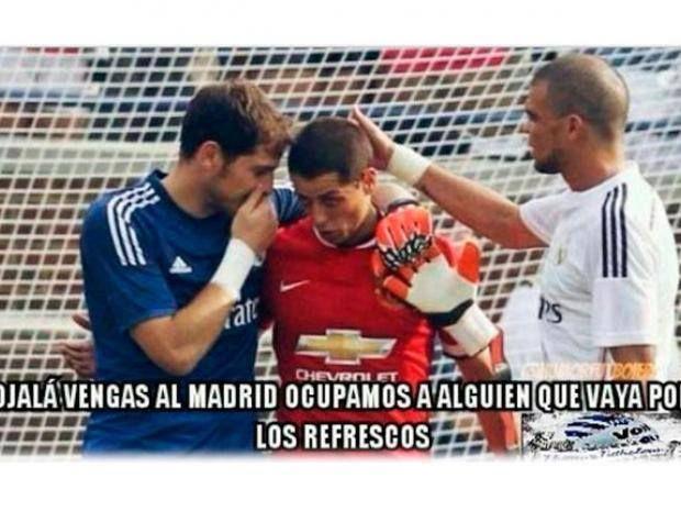 Chicharito Real Madrid Memes   Memes Chicharito Real Madrid Casillas