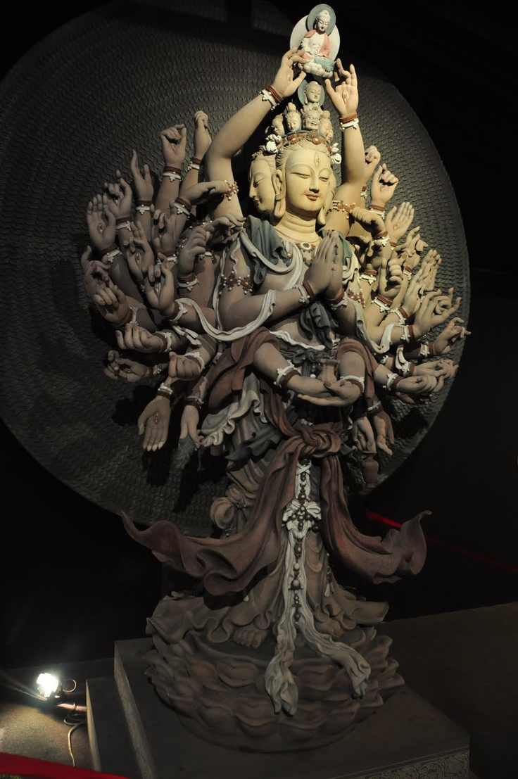 Guanyin, the Thousand Armed Avalokiteshvara