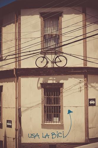 bici - Valparaiso -Chile