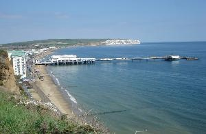 Sandown, Isle of Wight, England. This is the pier where my Mom met my Dad!!
