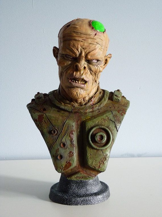 Promotional price Post apocalyptic mutant bust by ForbiddenScrolls