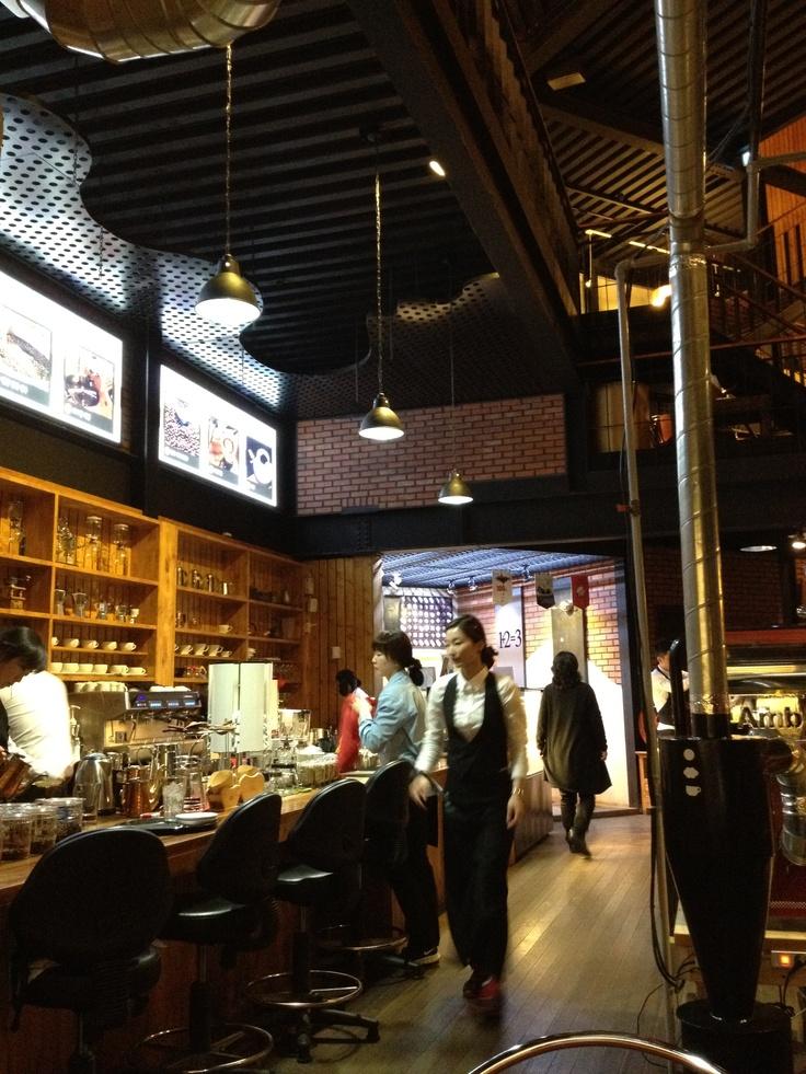 산타로사, 커피, 군산 은파유원지
