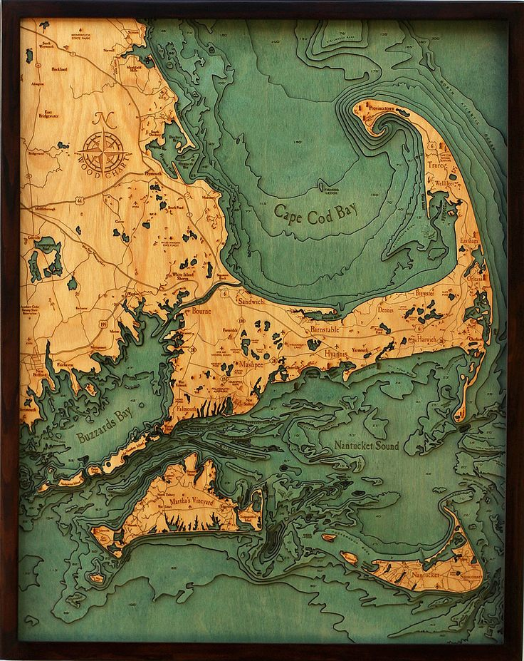 3d maps of underwater terrain produced by laser cutting and gluing together pieces of wood