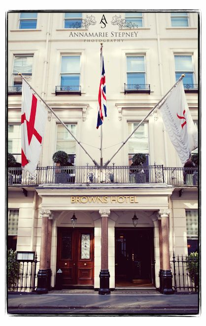 Brown's Hotel, London, opened in 1837 and has the oldest tea rooms in London. Wonderful afternoon tea