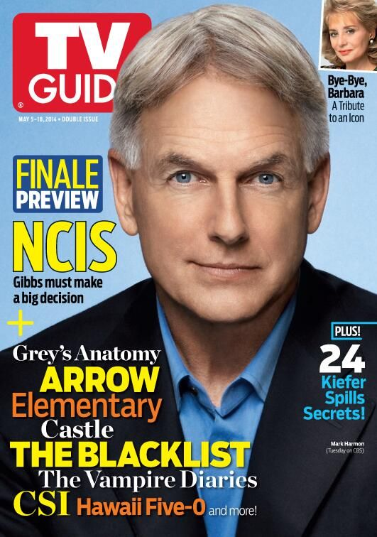 Thursday Mark Harmon is on the cover of @TV Guide Magazine!