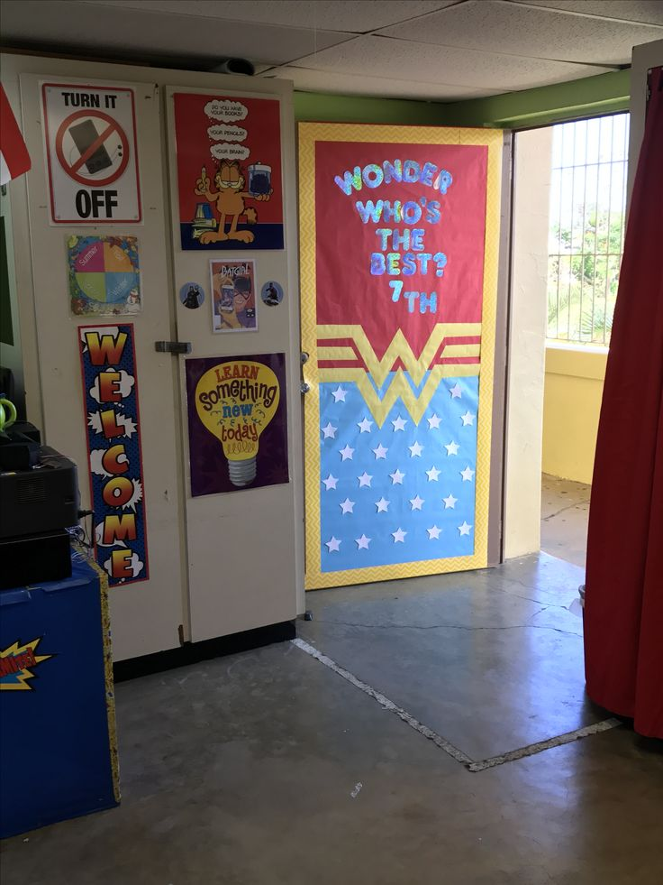Best 25+ Superhero classroom door ideas on Pinterest ...