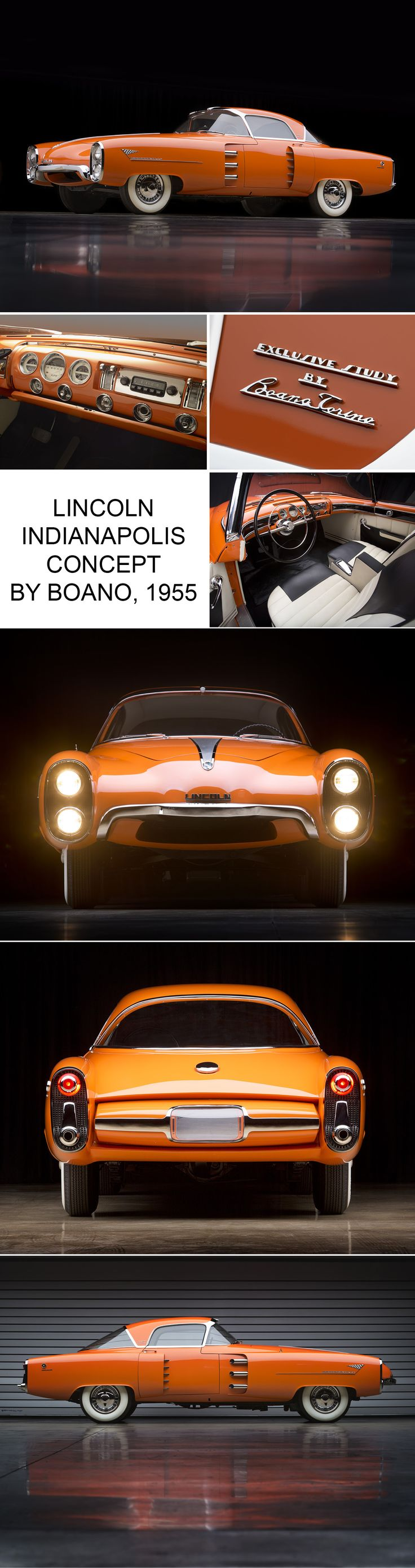 1956 chrysler boano auto shows car and driver - Lincoln Indianapolis Concept By Boano