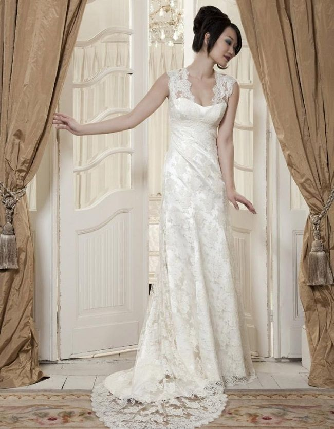 Sheath Wedding Dresses London : Lace sheath wedding dress stylist for women dresses