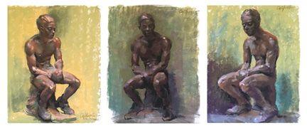 Judith Carducci pastelli asetelma maalaus