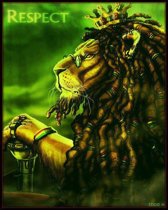 rasta lion | Bob Marley/ Rasta/ Reggae/Dancehall JAMAICA ...