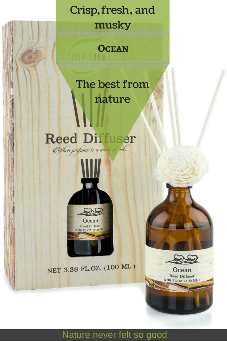 Create Your Personal Style in any room at home, with this natural Ocean reed diffuser.  #Easy and #safe to use, without clogging your AC filter like candles do, a reed diffuser gives a continuous fragrance. What it smells like?  It has a very fresh, crisp and clean aroma, with a distinct undertone of musky. Like a day at the beach. #ocean #homefragrance #reeddiffuser #christmasgift #clean #crisp #athome