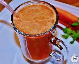 Veganana: Suco de Talos de Beterraba com Cenoura e Laranja