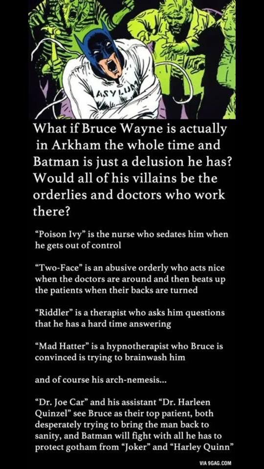 Cool batman conspiracy theory