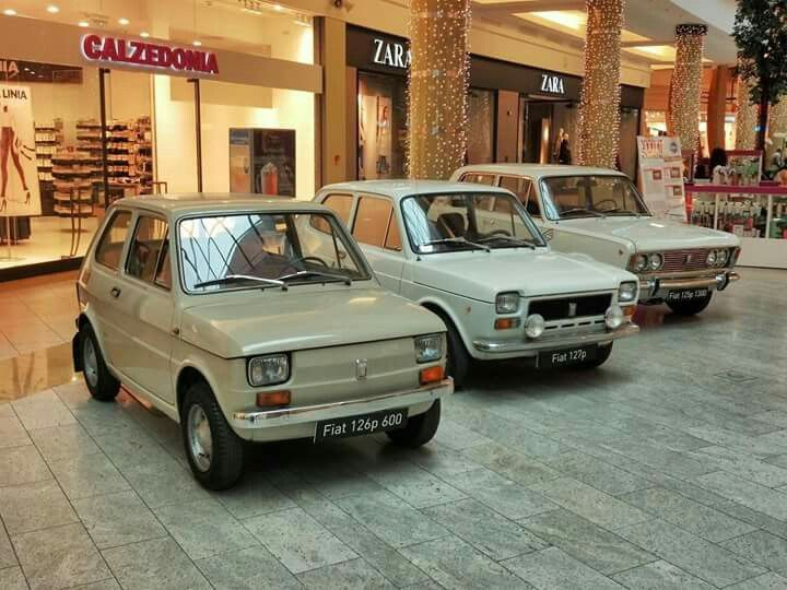 Fiaty 126, 127, 125