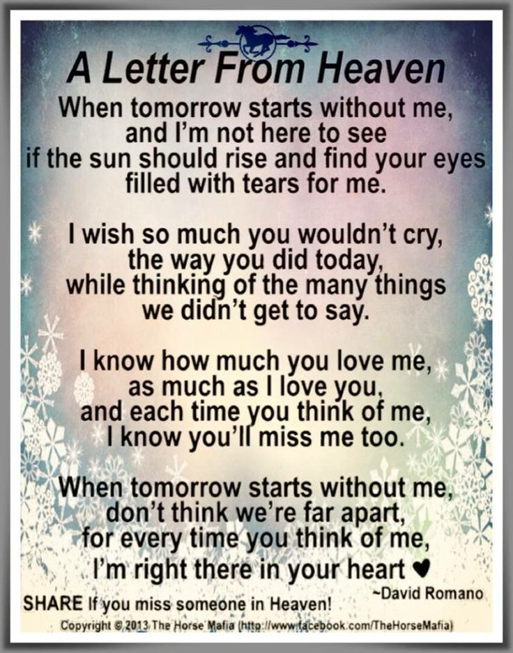 A prayer for someone grieving