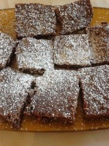 I brownies vegani ricetta light