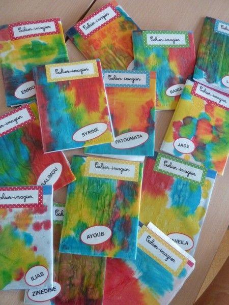 jolies couvertures de cahiers chez Stasia: photos 2014 - école petite section