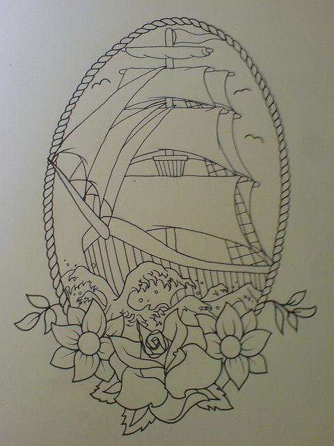 simple line drawing