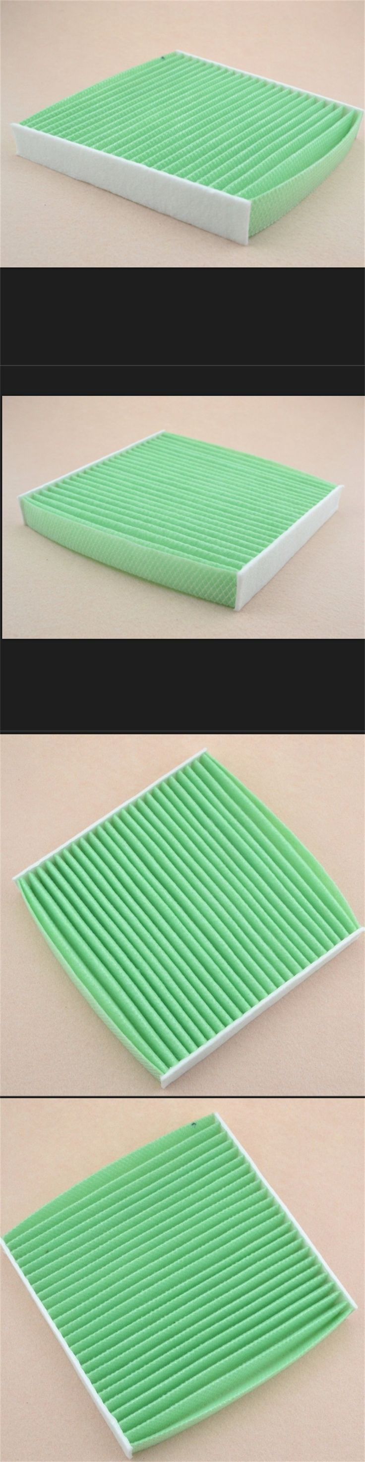 BBQ@FUKA 1 pcs New Auto Car Cabin Air Filter 80291-TF0-E01 Green Fit for Honda Insight  CR-Z Car Accessories OEM High Quality