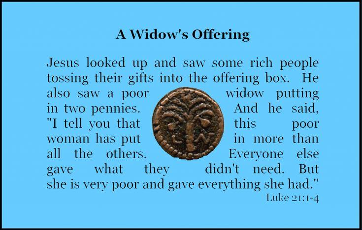 Widow S Offering Craft Coin