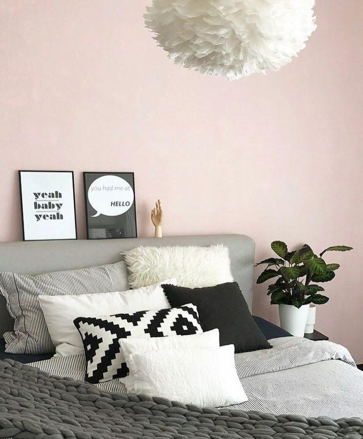 die besten 25 rosa schlafzimmer ideen auf pinterest rosa schlafzimmer dekor rosa graue. Black Bedroom Furniture Sets. Home Design Ideas
