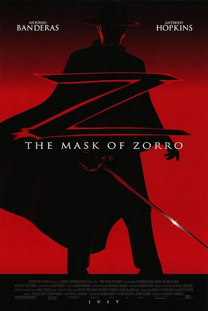 Zorro. Loved the old Zorro movies as a child - this captures the spirit.